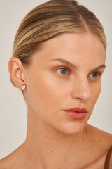 Oroton Lucy Heart Studs in Rose Gold and Brass Base Metal With Precious Metal Plating for female
