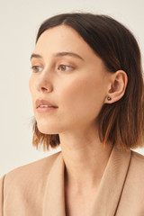 Oroton Lucy Heart Studs in Gold and Brass Base Metal With Precious Metal Plating for female