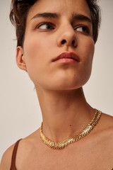 Oroton Jolie Necklace in Gold and Brass Base Metal With Precious Metal Plating for female