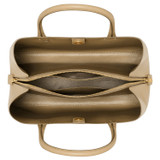 Oroton Muse Three Pocket Day Bag in Cinnamon and Saffiano / Smooth for female