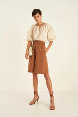 Oroton Taffeta Short in Maple and 100% Polyester for female