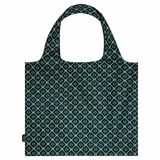 Oroton Elsie Packable Tote in Pine Green/Cream and Printed Fabric for female