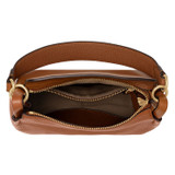 Oroton Byron Small Hobo in Cognac and Pebble Leather for female