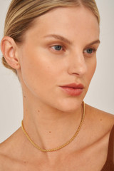 Oroton Inez Linked Chain Necklace in Gold and null for female