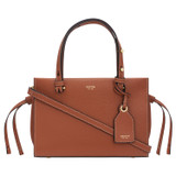 Oroton Sadie Mini Day Bag in Toffee and Pebble Leather for female