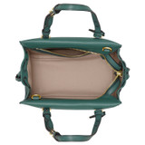 Oroton Sadie Mini Day Bag in Vintage Green and Pebble Leather for female