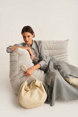 Oroton Brodie Soft Hobo in French Vanilla and Smooth Leather for female