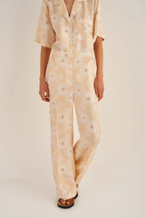 Oroton Daisy PJ Pant in Pale Mango and 100% Silk for female