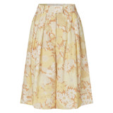 Oroton Garden Floral Culottes in Sugarcane and 100% Linen for female