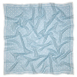 Oroton Elsie Scarf in Sky and 69% Cotton, 31% Silk for female