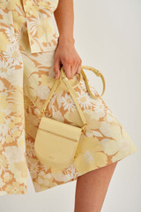 Oroton Lotte Crossbody in Butter and Smooth Leather for female