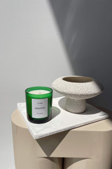 Oroton Oroton X Lumira Candle - Fig Tree in Green Fig and Hand Poured Soy Wax in Glass Jar for female