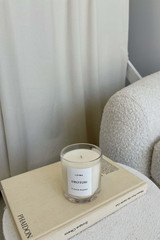 Oroton Oroton X Lumira Candle - Flower Market in Mist and Hand Poured Soy Wax in Glass Jar for female