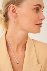 Oroton Elke Hoops in Silver and Brass Base Metal With Precious Metal Plating for female