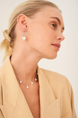 Oroton Farah Necklace in Silver and Brass Base Metal With Precious Metal Plating for female