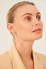 Oroton Elke Earrings in Gold and Brass Base Metal With Precious Metal Plating for female