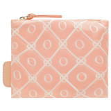 Oroton Elsie Packable Tote in Sorbet/Cream and Printed Nylon for female