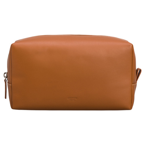 Oroton Buckley Wetpack in Cognac and Smooth Leather for male