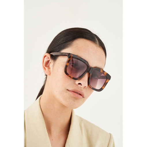 Oroton Valentina Sunglasses in Tort/Brown and Acetate for female