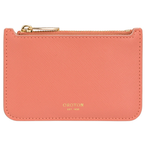 Oroton Harriet Credit Card Holder in Pottery and null for female