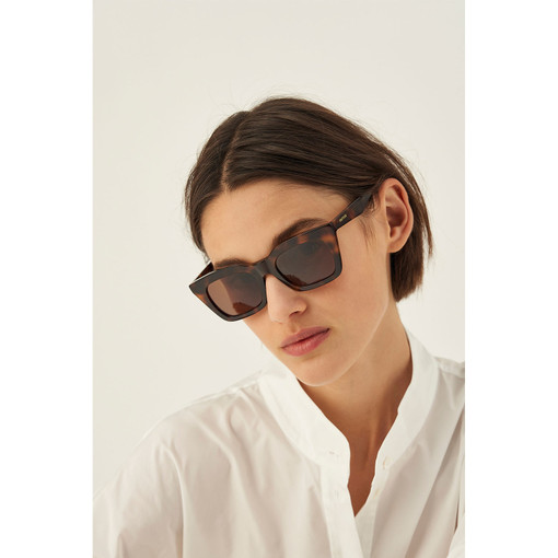 Oroton Astrid Sunglasses in Tort and Acetate for female
