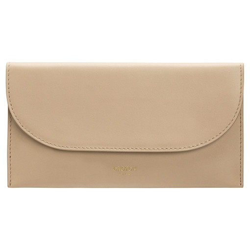 Oroton Etta Medium Continental Wallet in Fawn and Smooth Leather for female