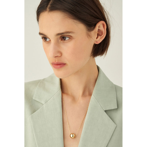 Oroton Blair Necklace in Gold and Brass Base Metal With Precious Metal Plating for female