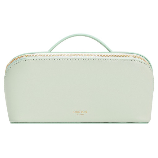 Oroton Minna Medium Wetpack in Green Birch and Smooth Leather for female