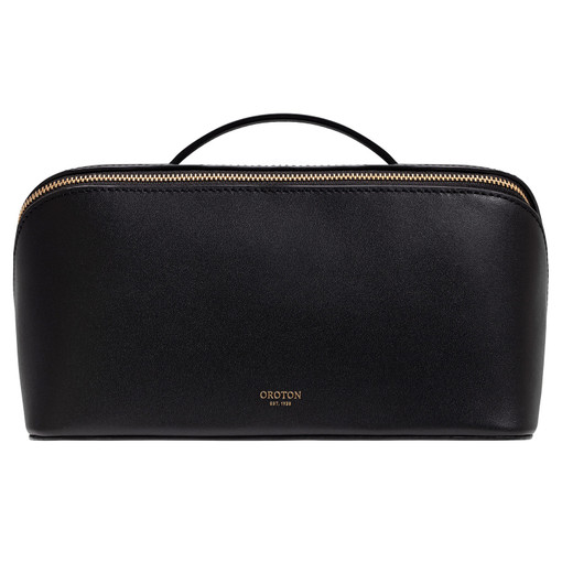 Oroton Minna Large Wetpack in Black and Smooth Leather for female