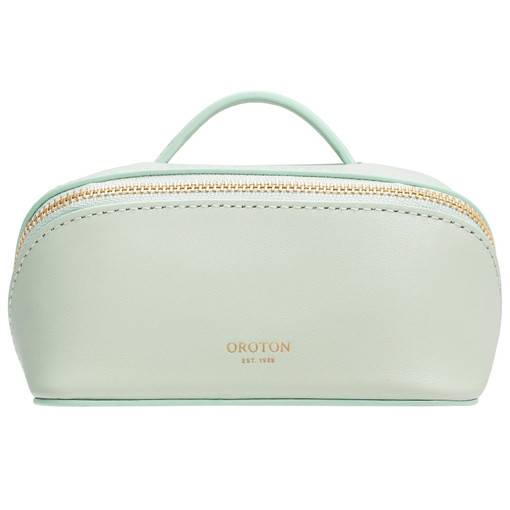 Oroton Minna Small Wetpack in Green Birch and Smooth Leather for female