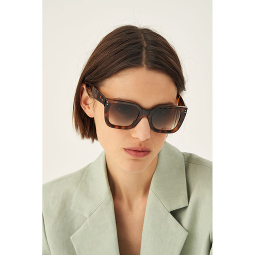 Oroton Sage Sunglasses in Tort and Acetate for female