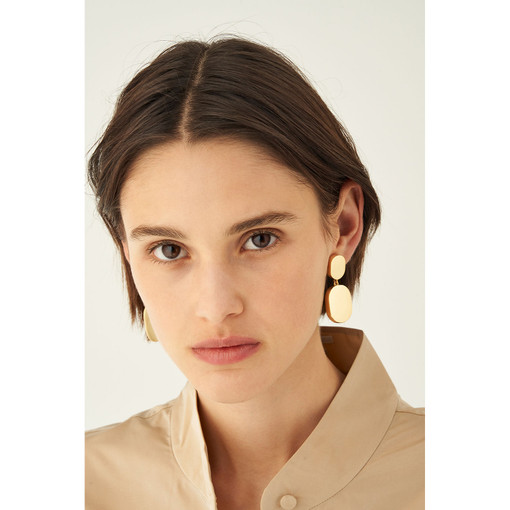 Oroton Millie Earrings in Gold and Brass Base Metal With Precious Metal Plating for female