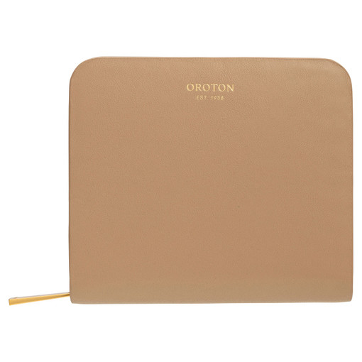 Oroton Minna Small Seamless Wallet in Khaki and Smooth Leather for female
