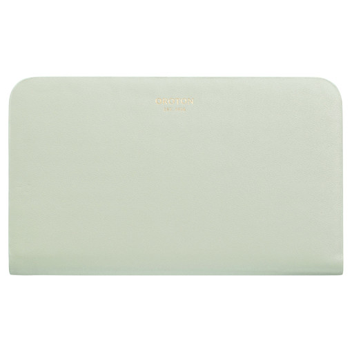 Oroton Minna Medium Seamless Wallet in Green Birch and Smooth Leather for female