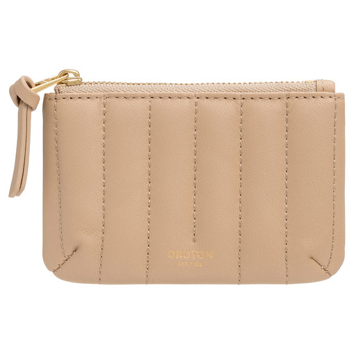 Oroton Fay Small Pouch in Praline and Nappa Leather for female