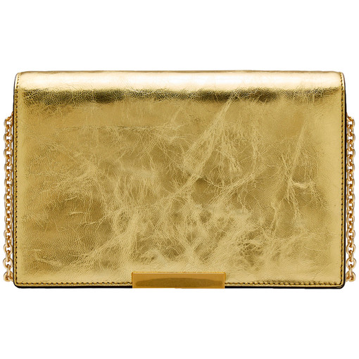 Oroton Cruise Clutch in Gold and null for female
