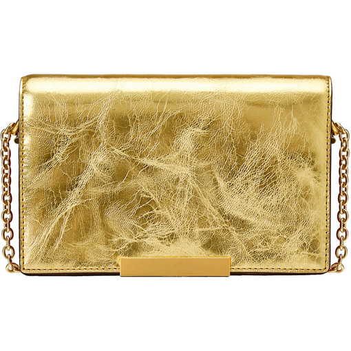 Oroton Cruise Mini Clutch in Gold and null for female