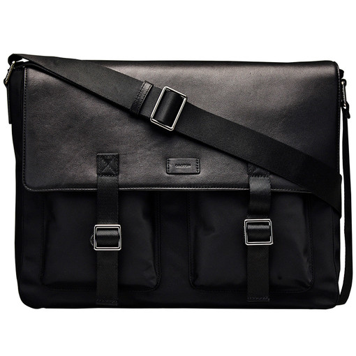 Oroton Crusade Ew Satchel in Black and null for male