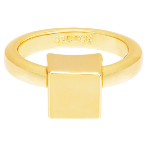 Oroton Cuba Statement Ring in Gold and null for female
