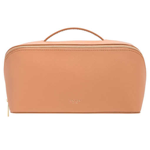 Oroton Avani Large Case in Treacle and 60% off-cut leather fibres, 30% vegetable origin, 10% synthetic for female