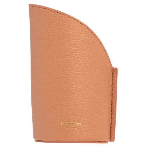 Oroton Jude Pen Holder in Treacle and Pebble Leather for female