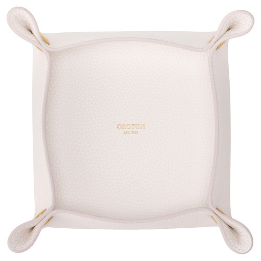 Oroton Jude Medium Organiser in Pure White and Pebble Leather for female