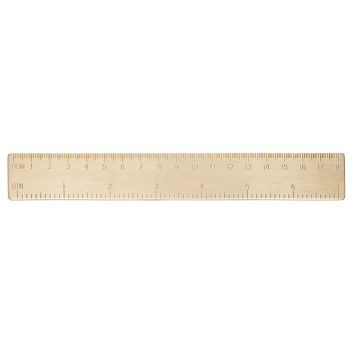 Oroton Sam Ruler in Brass and null for female