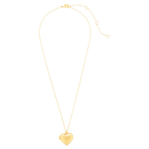 Oroton Lucy Heart Locket Necklace in Gold and null for female