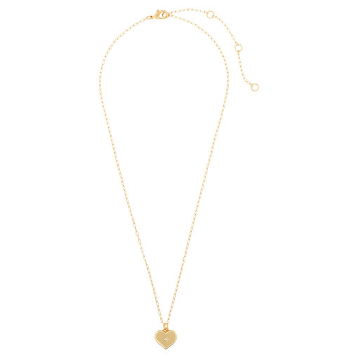 Oroton Lucy Heart Necklace in Gold and null for female