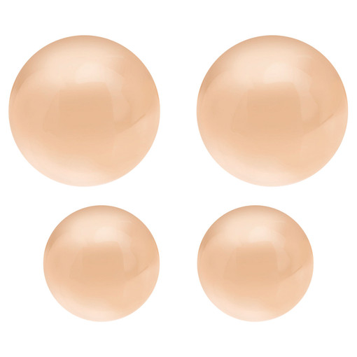 Oroton Icon Oval Stud Set in Rose Gold and null for female