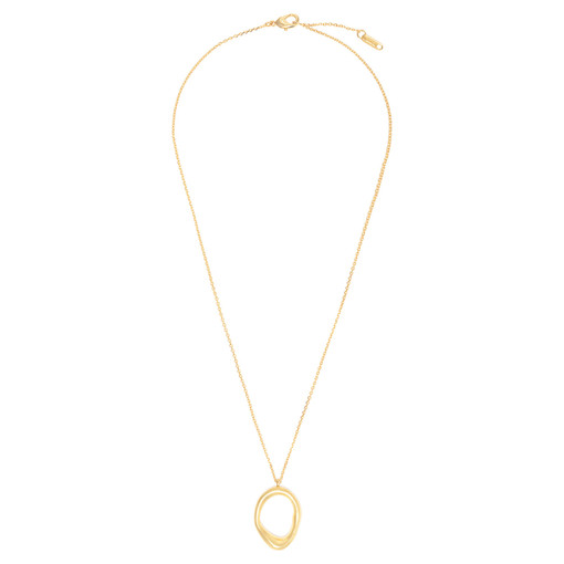 Oroton Ecru Necklace in Gold and Brass Base Metal for female
