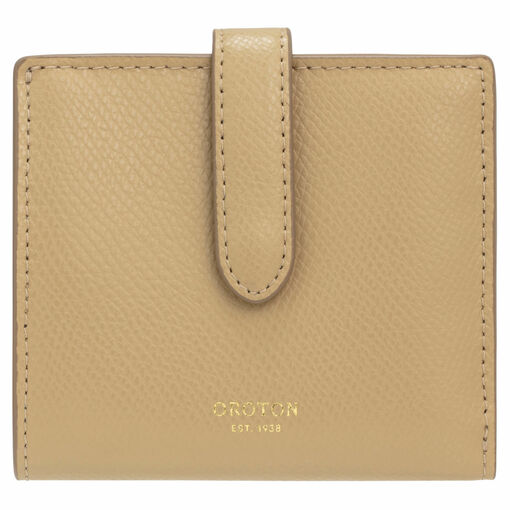 Oroton Muse 9 Credit Card Wallet in Cinnamon and Saffiano / Smooth for female