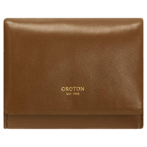 Oroton Heath Small Wallet in Deep Olive and Smooth Leather for female