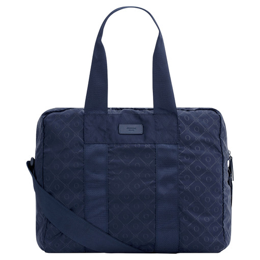 Oroton Sasha Packable Weekender in Ink and Printed Nylon for male